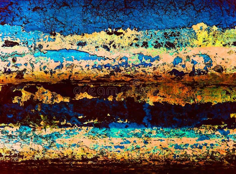 Grunge coloured tło. Fotografia. zdjęcie royalty free