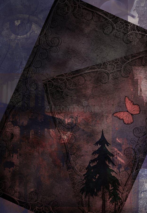 Grunge Comp royalty-vrije stock afbeelding