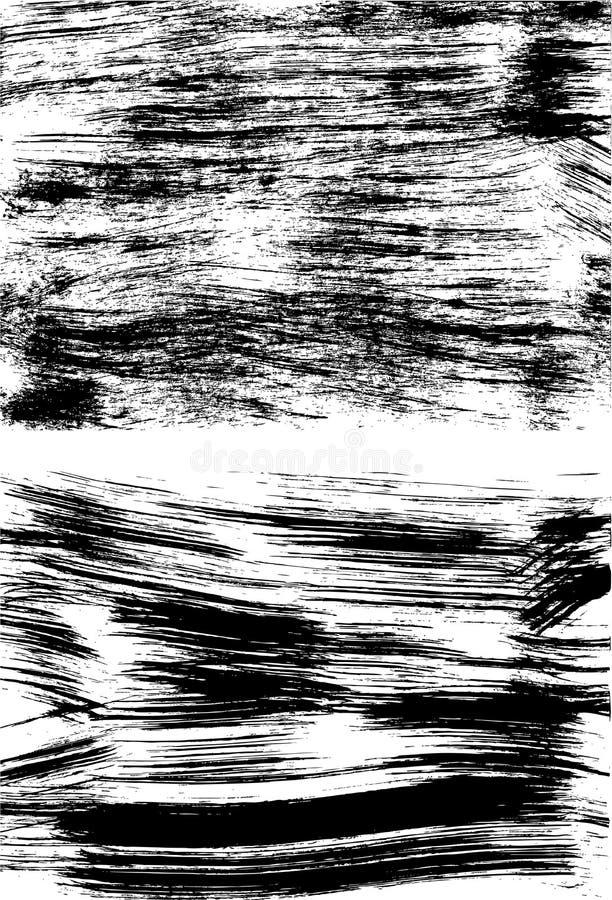Grunge completamente ilustração stock