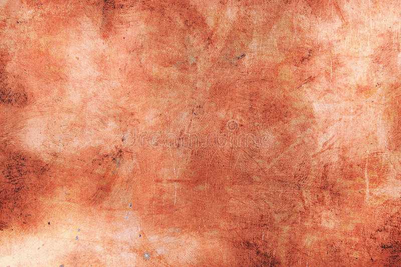Grunge copper background. The grunge copper abstract background royalty free stock images