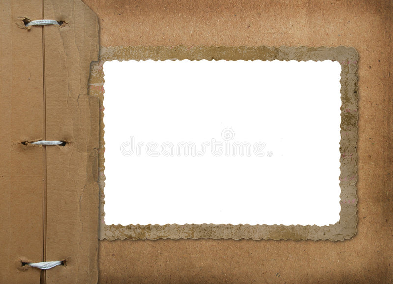 Download Grunge Cover For An Album With Photos. Portfolio Royalty Free Stock Image - Image: 7792876