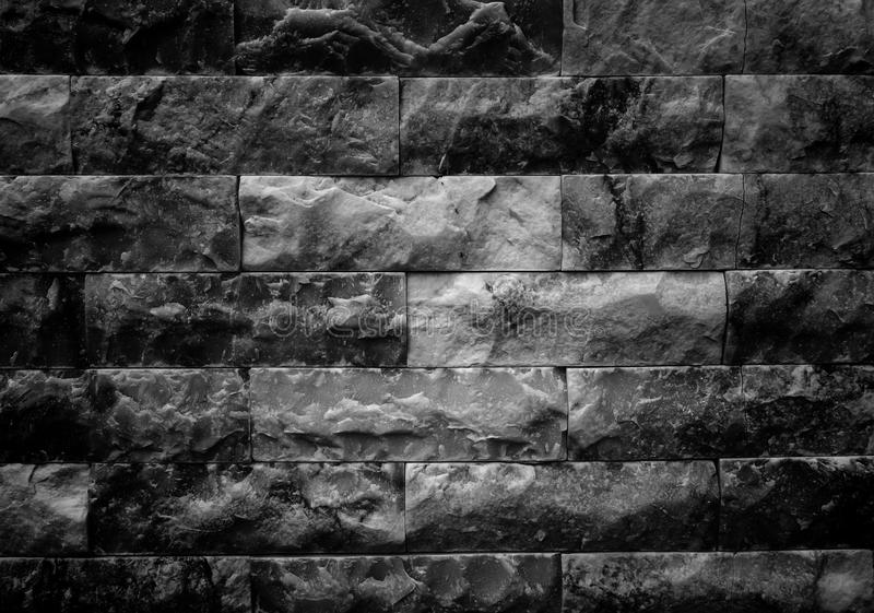 Grunge Crack Marble Brick Wall Abstract Background Texture, High Contrast. Grunge Crack Marble Brick Wall Abstract Background Texture royalty free stock photo