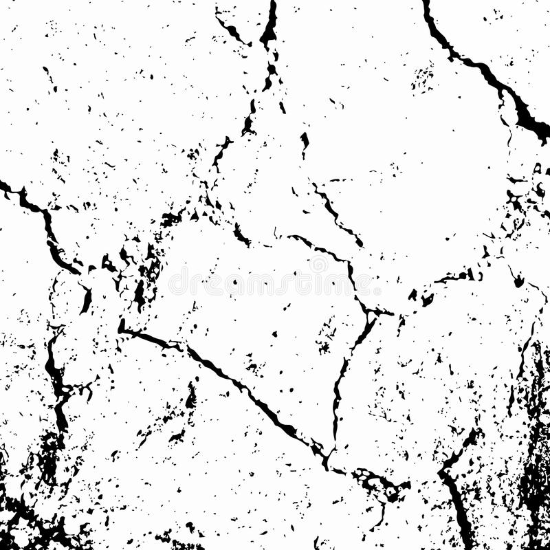 Grunge cracks overlay vector illustration