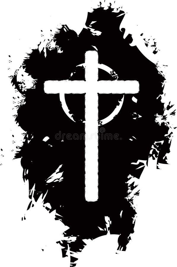 Download Grunge cross background stock vector. Illustration of blood - 7305565