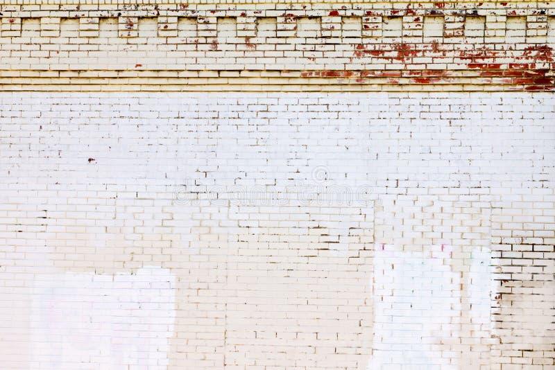 Grunge cubrió textura del fondo de la pared de ladrillo imagenes de archivo