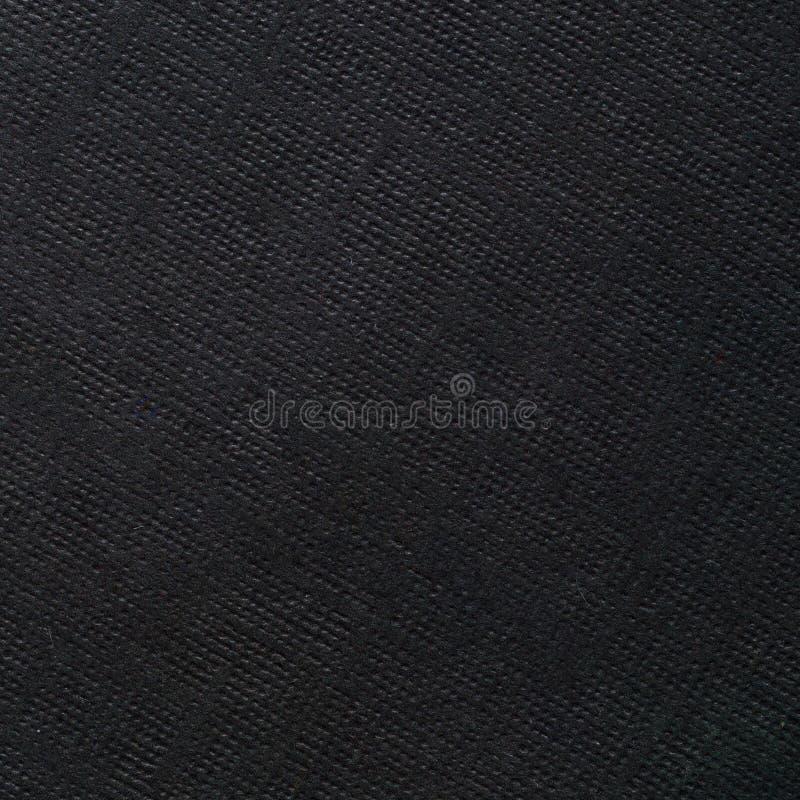 Grunge czerni papieru tekstura fotografia stock