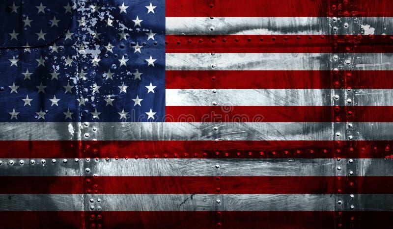 grunge d'indicateur américain image stock