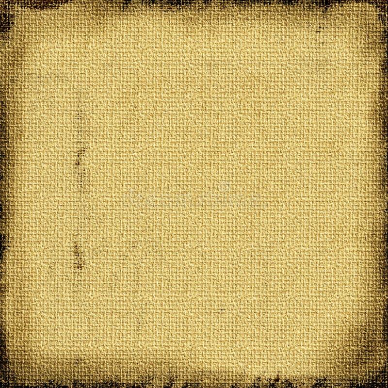 Grunge da lona de serapilheira ilustração stock
