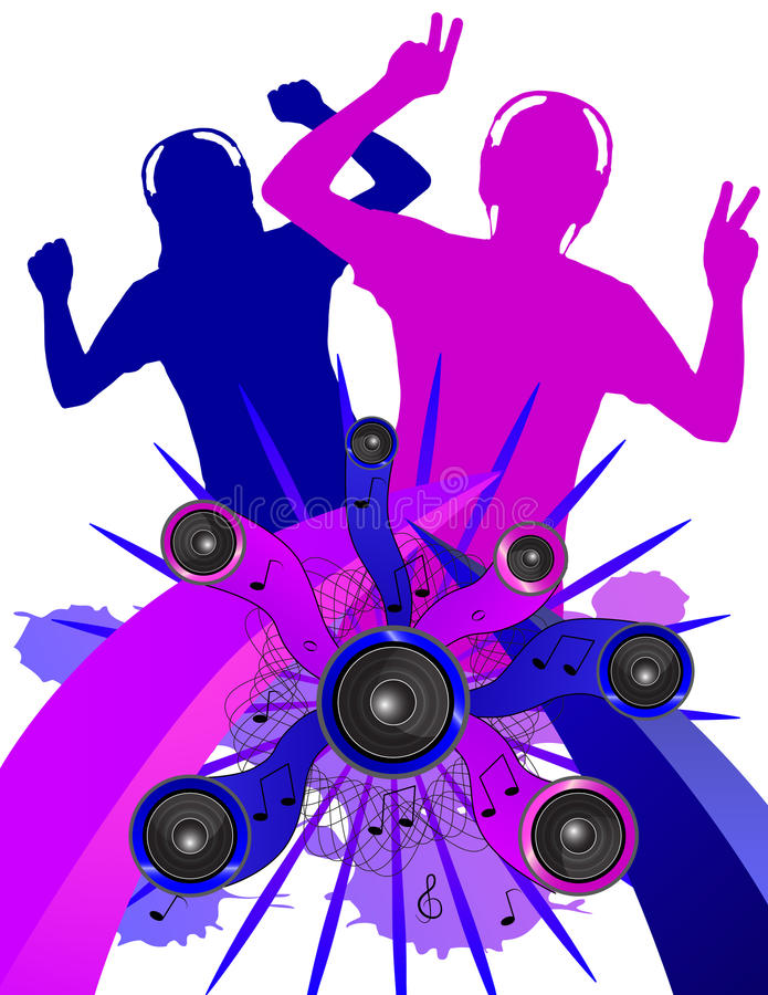 Download Grunge Dancers Without Background Stock Vector - Image: 32454150