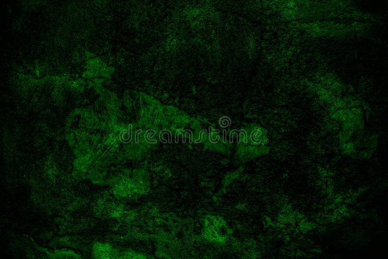 Grunge Dark Green Wall Background Stock Image - Image ...
