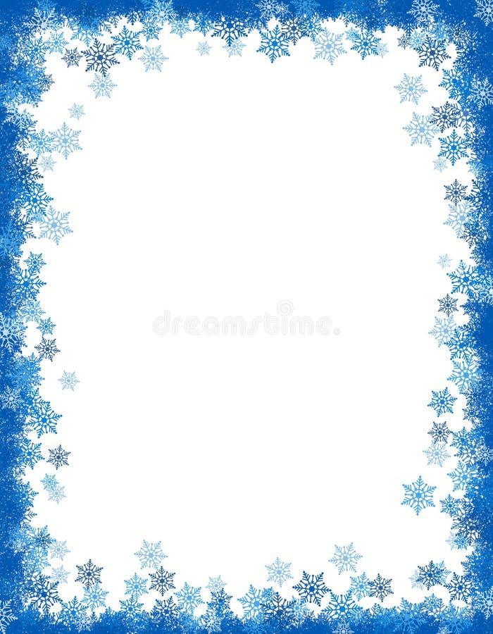 grunge de Noël de cadre de fond illustration stock