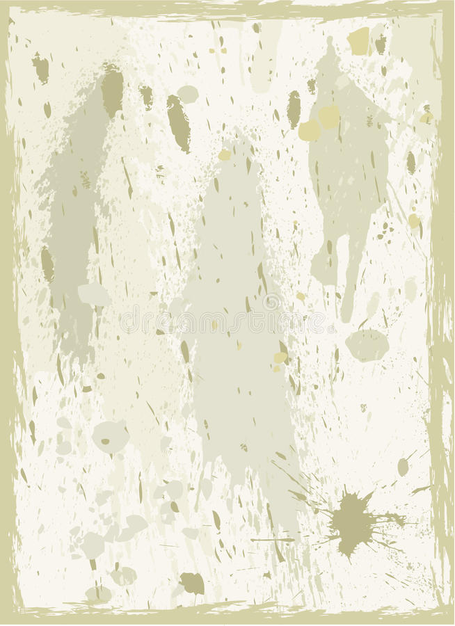 Grunge de papel velho backgrounds_4 ilustração royalty free