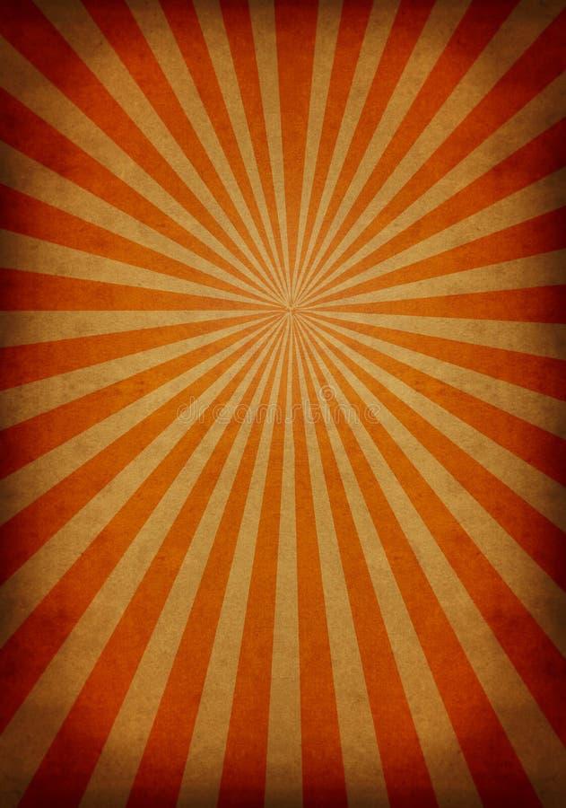 Grunge de Sun ilustração royalty free
