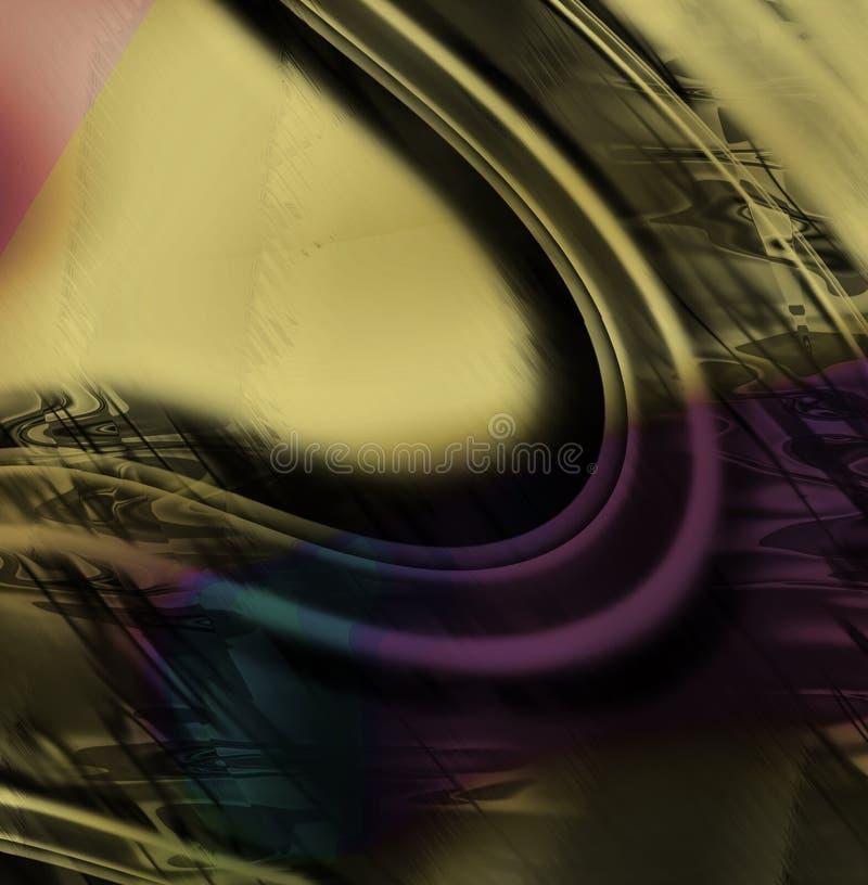 Grunge de Techno ilustración del vector