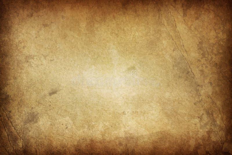 Grunge de texture d'Art Old Paper Scrapbook Background illustration stock
