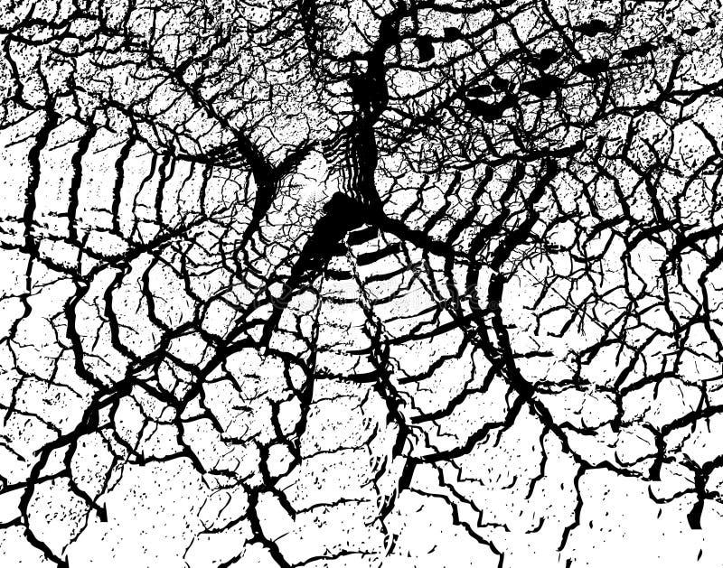 Grunge de toile d'araignee illustration libre de droits