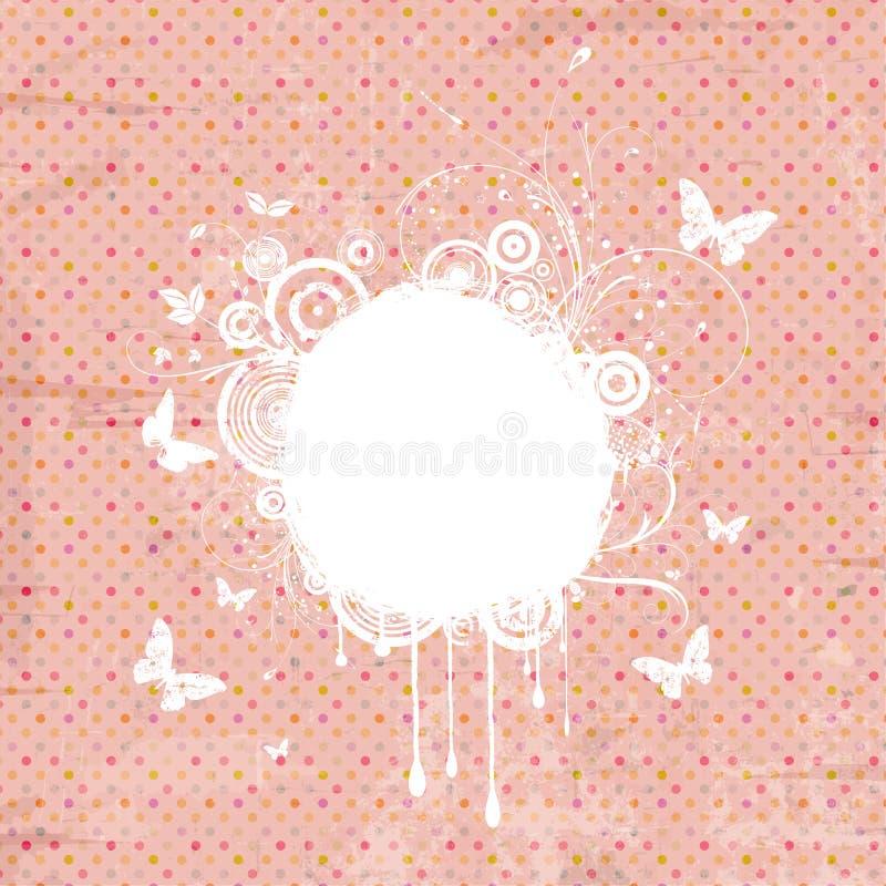 Grunge decorativo de la vendimia ilustración del vector