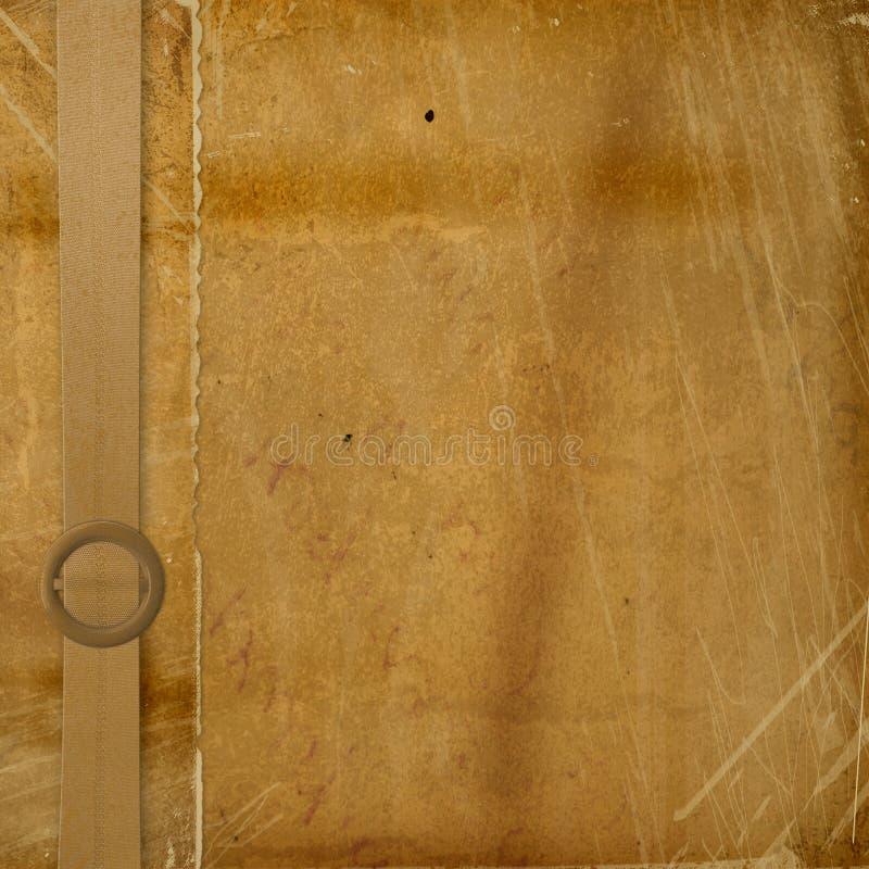 Grunge dekorative Abdeckung für ein Album lizenzfreies stockfoto