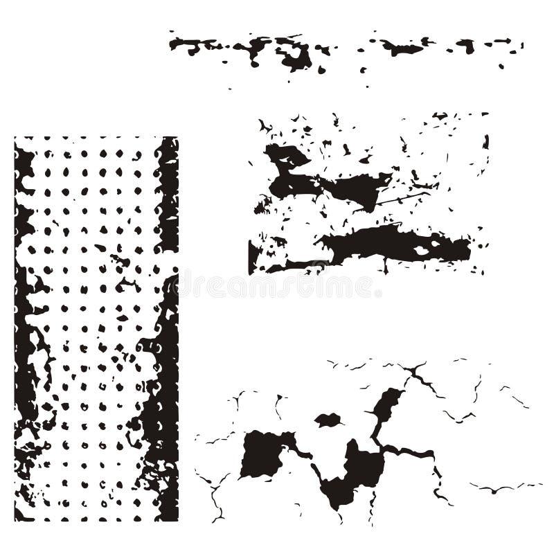 Grunge design elements vector illustration