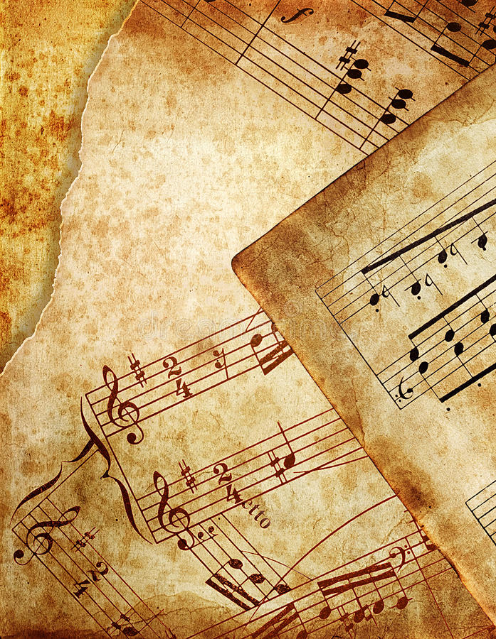 Grunge di musica immagini stock libere da diritti