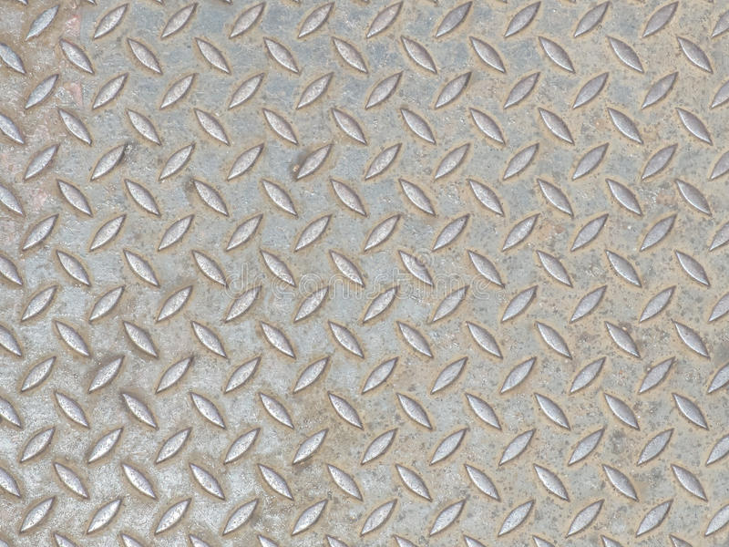 Grunge Diamond Steel Plate Background Texture stock fotografie