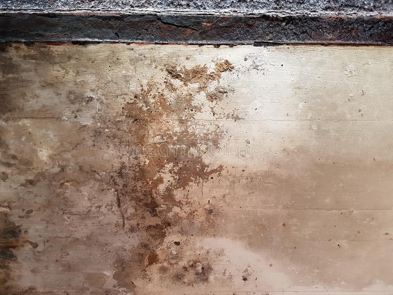 Grunge Dirty Rusted Plaster Wall Background Backdrop stock photography