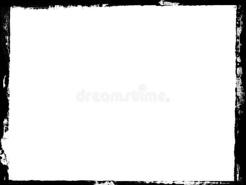 Grunge do quadro ilustração stock