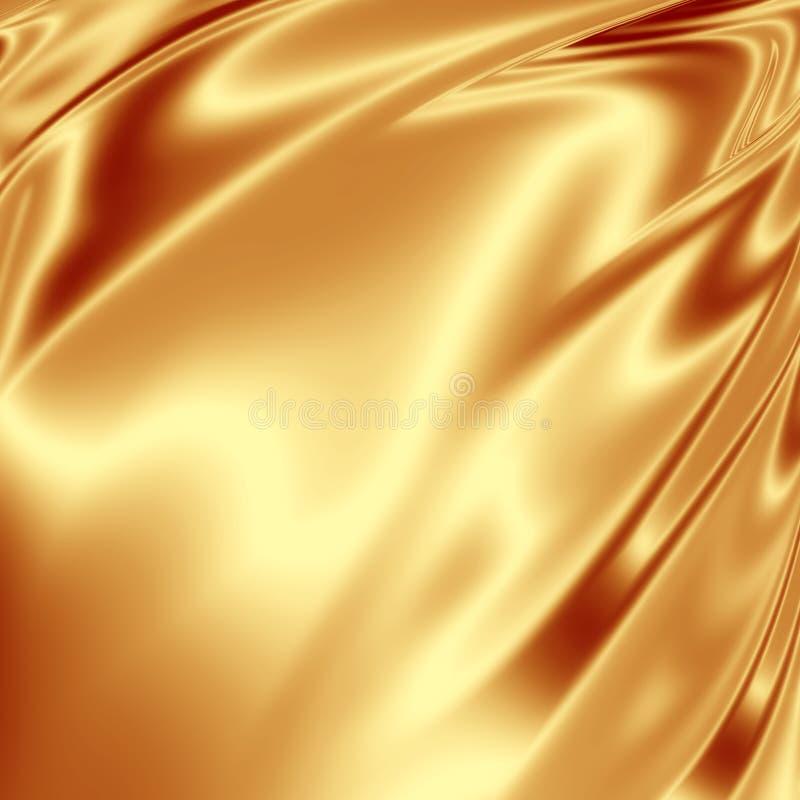 Grunge dourado ilustração do vetor