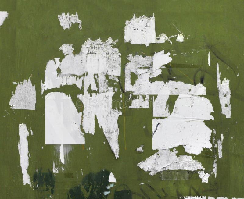 Grunge drzejący billboardu plakaty zdjęcia royalty free