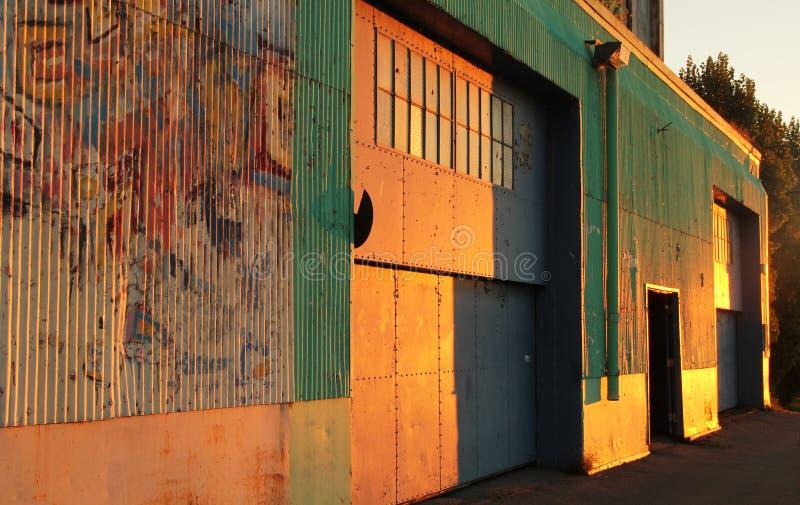 Grunge drzwi zdjęcia stock