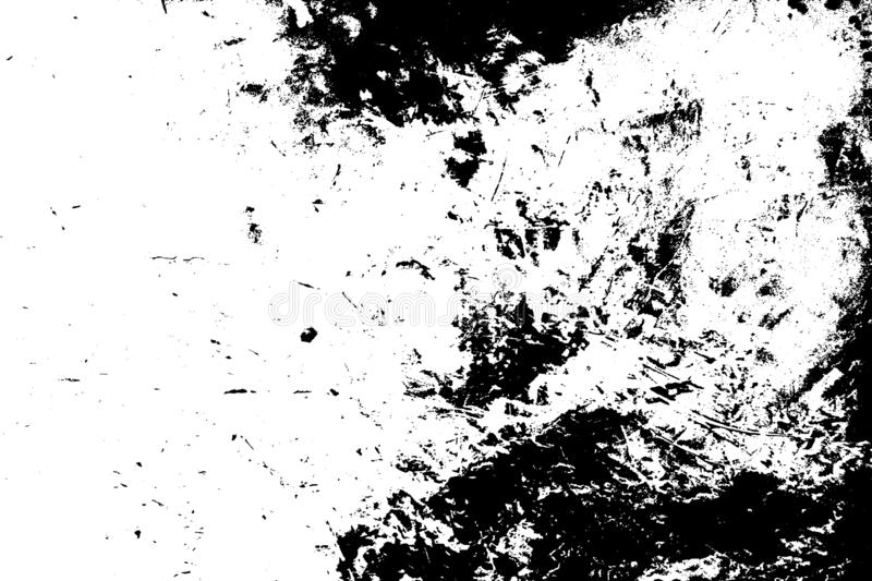 Distress Overlay Texture. Grunge dust messy background. Aged splatter crumb wall backdrop. Distressed grainy spray overlay texture. Dirty powder rough empty vector illustration