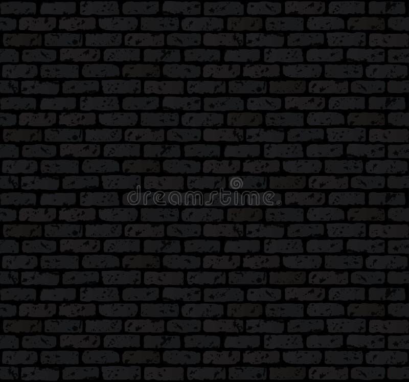 Grunge e fundo danificado da parede de tijolo. ilustração stock