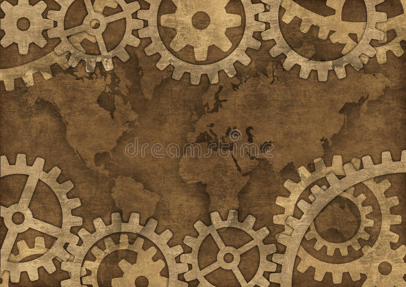 Download Grunge earth stock illustration. Image of continent, earth - 21684021