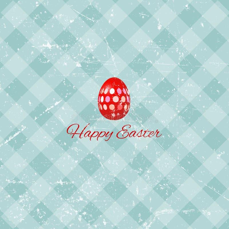 Grunge Easter background stock illustration