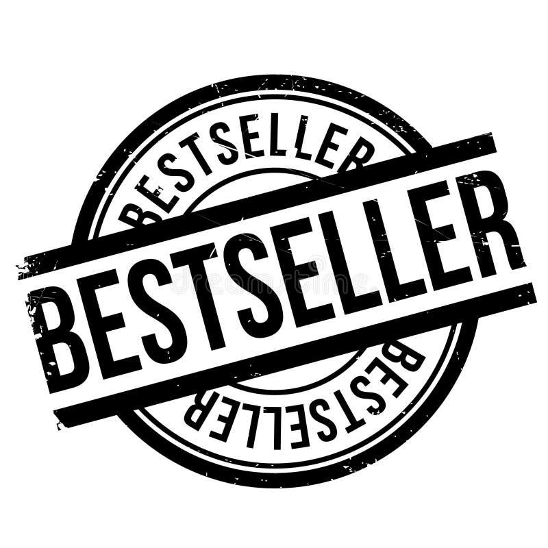 Grunge en caoutchouc de timbre de best-seller illustration de vecteur