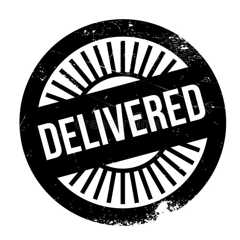 Grunge entregado del caucho del sello ilustración del vector