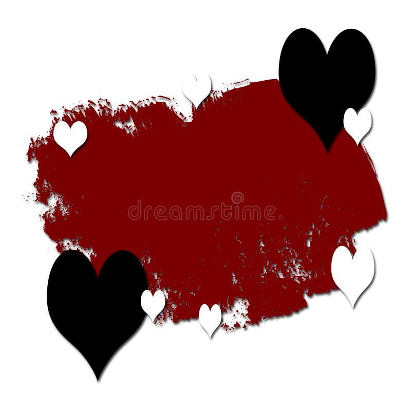 Grunge et Romance illustration libre de droits
