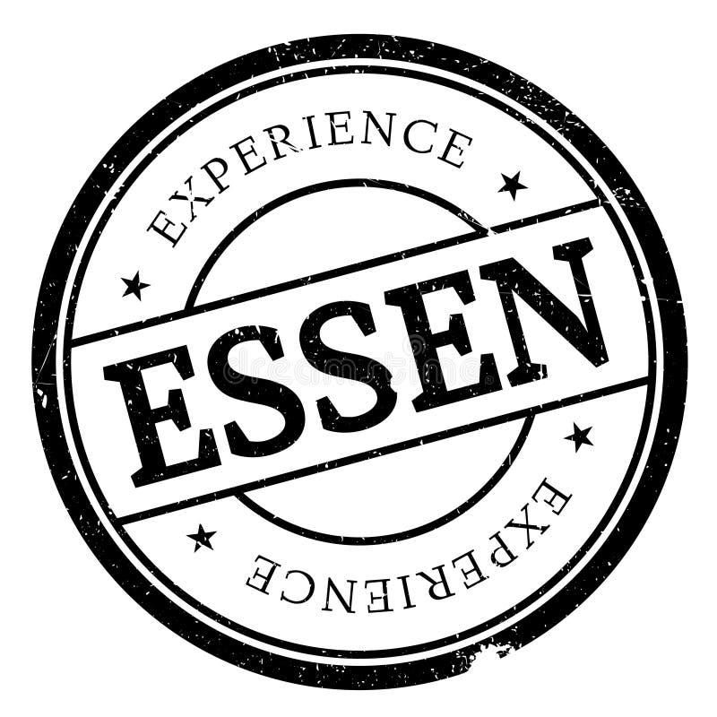 Grunge för Essen stämpelgummi vektor illustrationer