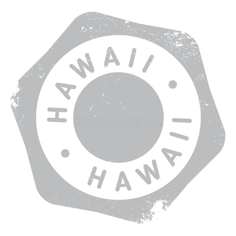 Grunge för Hawaii stämpelgummi vektor illustrationer