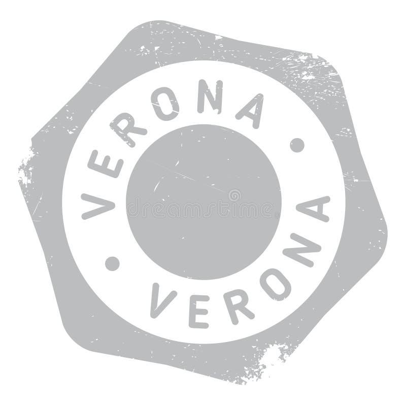 Grunge för Verona stämpelgummi stock illustrationer