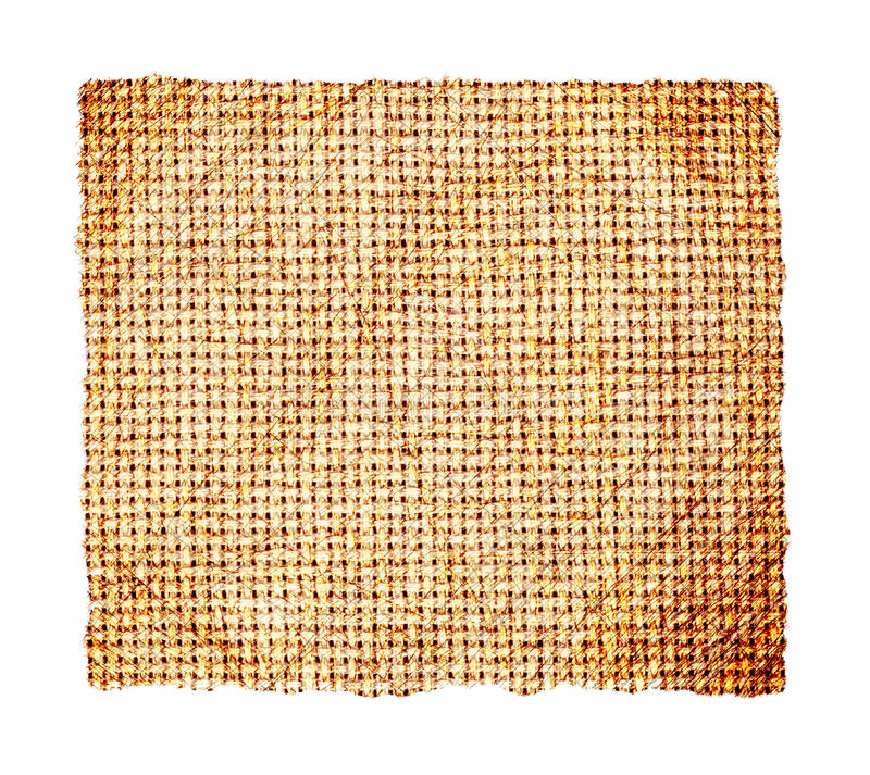 Grunge Fabric. This is a scan of a small piece of grunge fabric royalty free stock photo