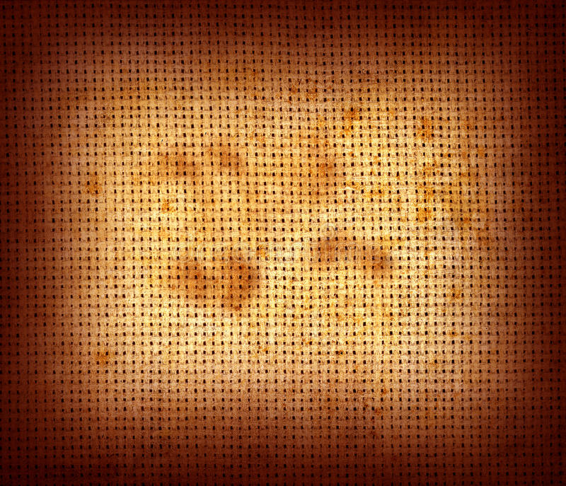 Grunge Fabric. A vintage fabric texture with grunge feel vector illustration