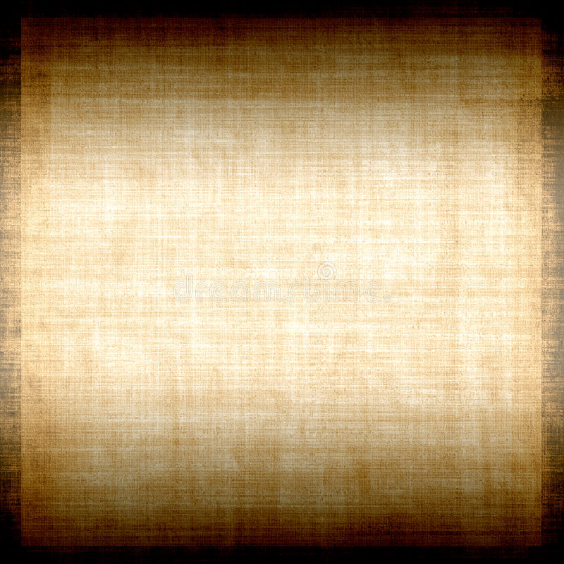 Grunge Fabric With Copyspace. Brighter in the middle copyspace on this vintage style canvas fabric texture grunge background royalty free illustration