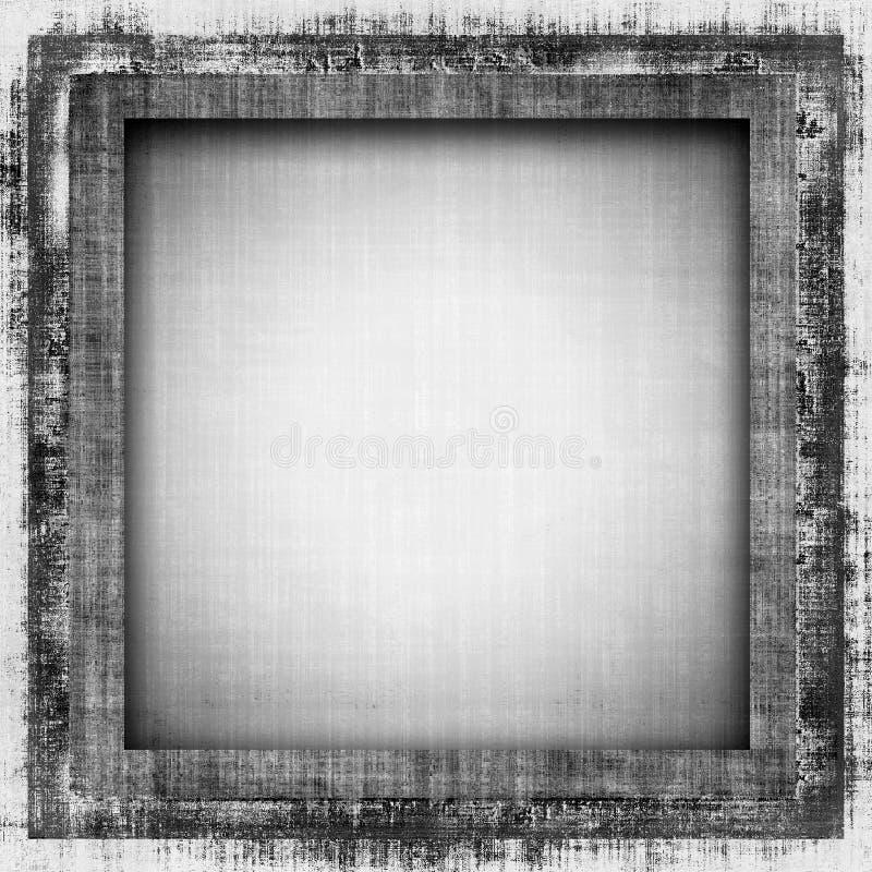 Grunge Fabric Frame vector illustration
