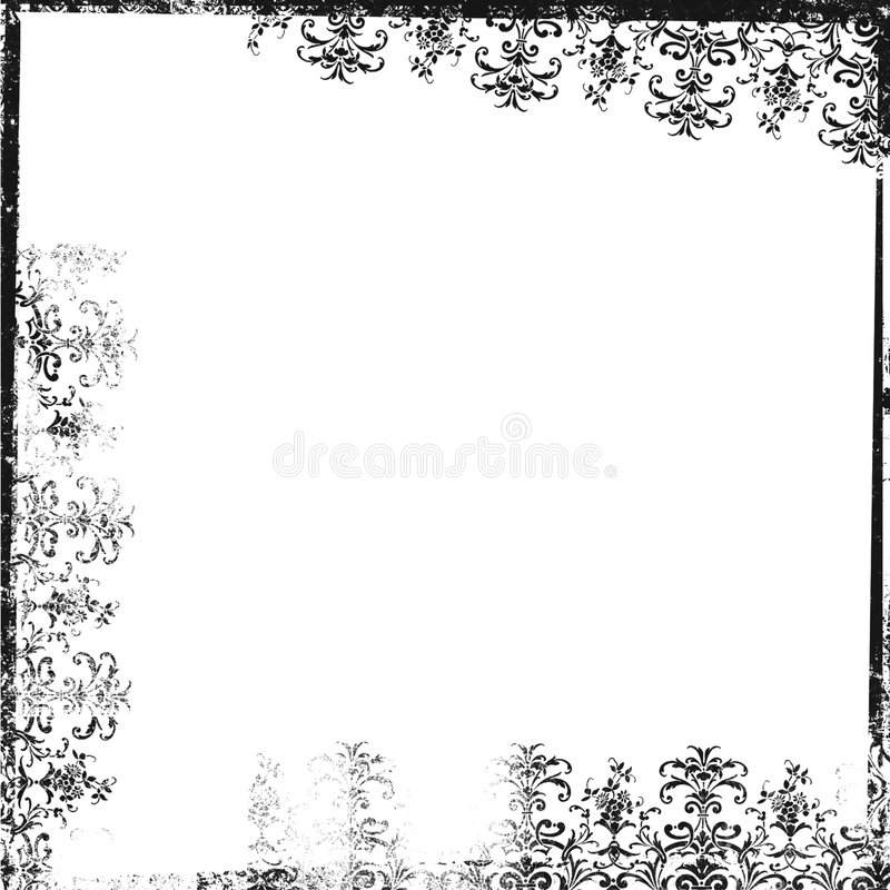 Grunge Fantasy Ornamental Artwork Backdrop vector illustration