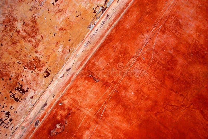 grunge farby obierania ściany fotografia stock
