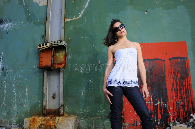 Grunge fashion royalty free stock image