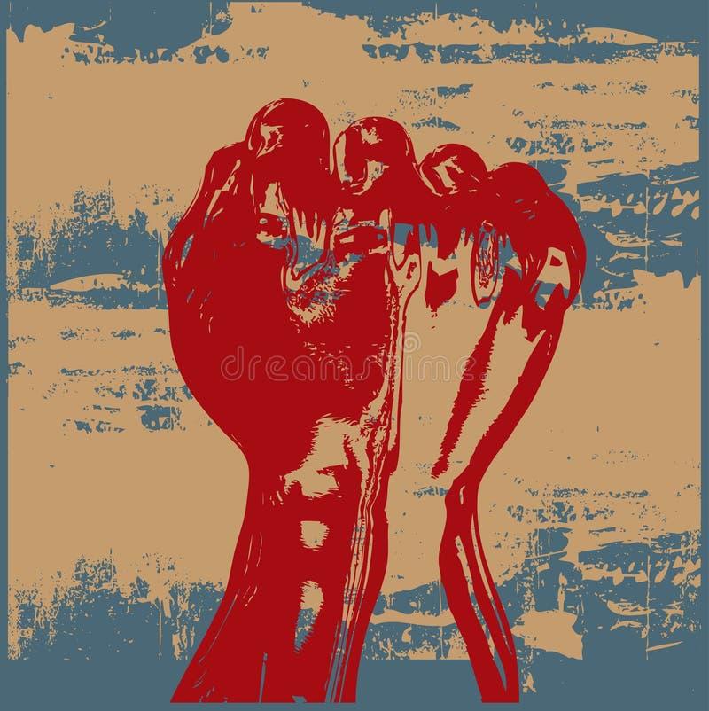 Download Grunge Faust vektor abbildung. Illustration von grunge - 9089430