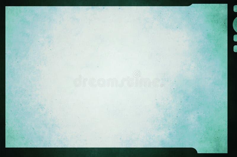 Grunge Film Frame. A Grunge Film Frame background royalty free stock photos
