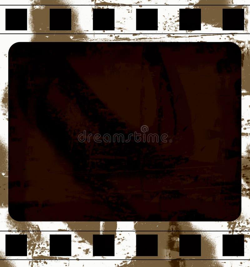 Download Grunge film frame stock illustration. Image of antique - 2320555